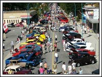 Check out the Antique Car Show in Sechelt, BC