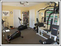 Absolute Heaven Oceanview Suites Fitness center